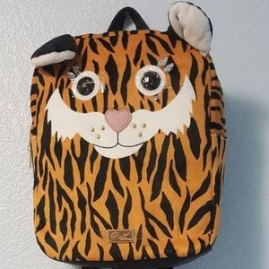 Nwt Luv Betsy lbspike fur tiger backpack